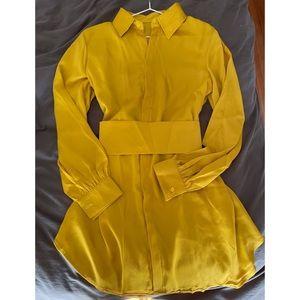 Yellow blouse set